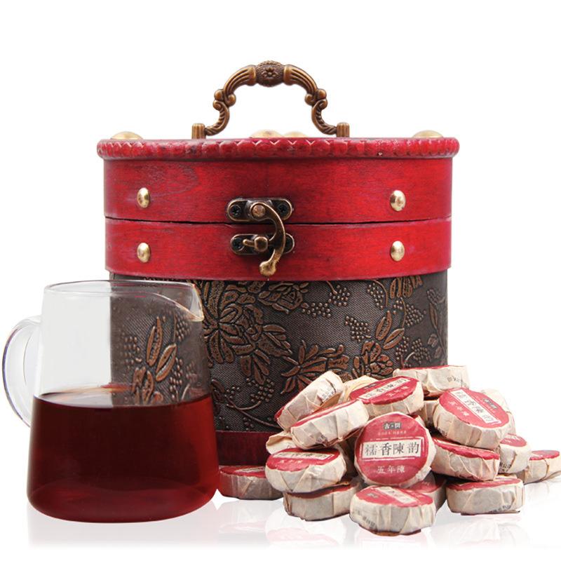 2015 Luzhou-flavored Glutinous Fragrant Tea 680g