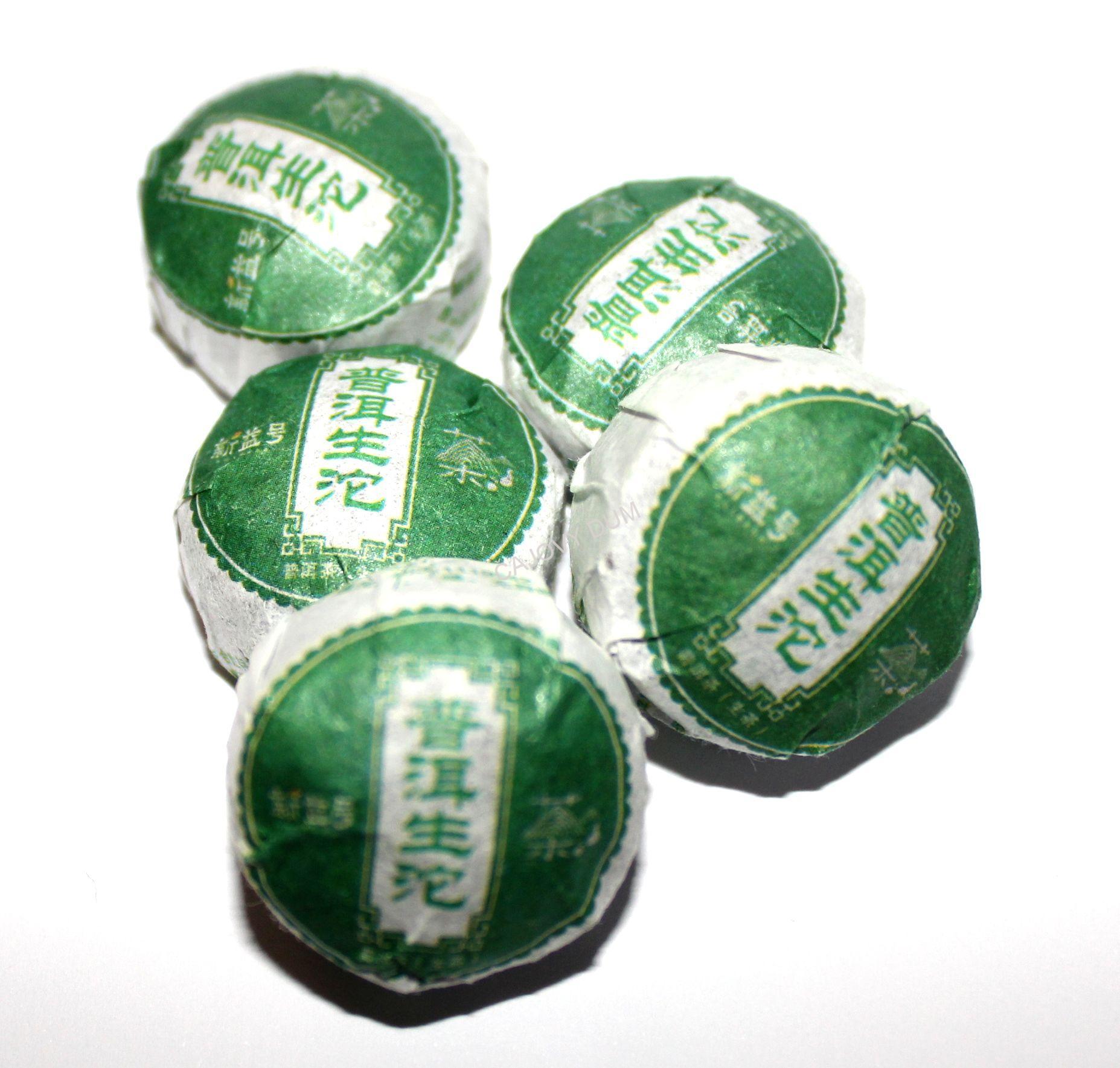 2015 Mini tuocha zelená cca 5g